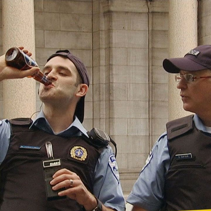 the drunken cop