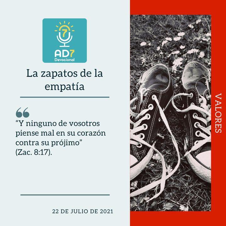 22 de julio - La zapatos de la empatía - Devocional de Jóvenes - Etiquetas Para Reflexionar