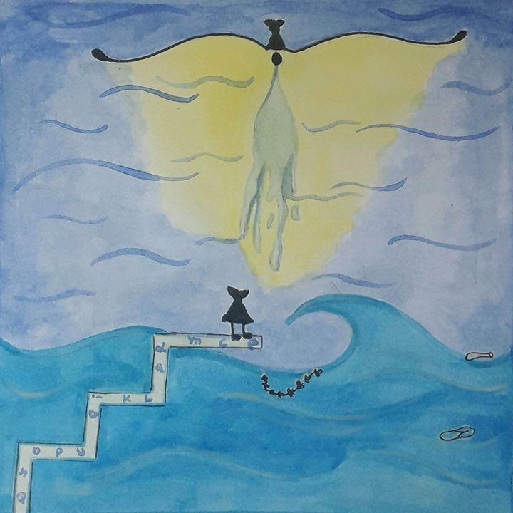 #67. Getting used to the sea | Salma