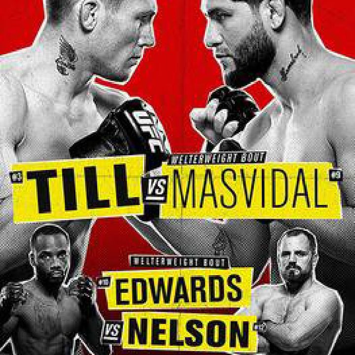 Preview Of The UFCONESPN+ London Card, Preview Of The Last 3 Fight's Headlined By Darren Till vs Jorge Masvidal