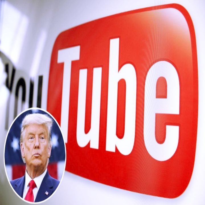 YouTube suspending President Donald Trump's channel