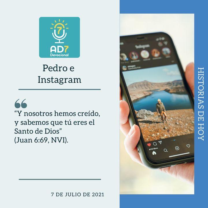 7 de julio - Pedro e Instagram - Devocional de Jóvenes - Etiquetas Para Reflexionar