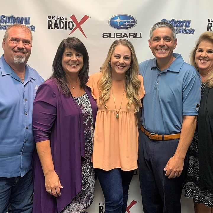 Jim DiBenedetto with DTS-Dynamic Tax Solutions and Chrissy Strohmeyer & Gabrielle Mills with Sourced.
