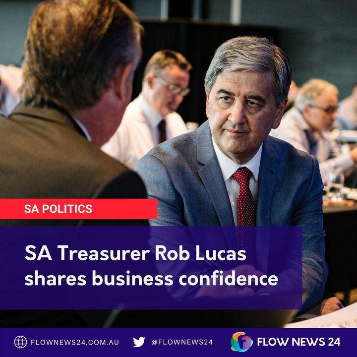 SA Treasurer Rob Lucas (@Rob_Lucas) on encouraging job seekers to fill country vacancies