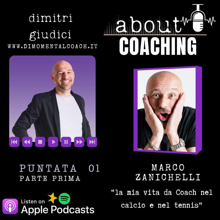 """Marco Zanichelli """"La mia vita da Coach nel calcio e nel tennis"""" parte 1"""