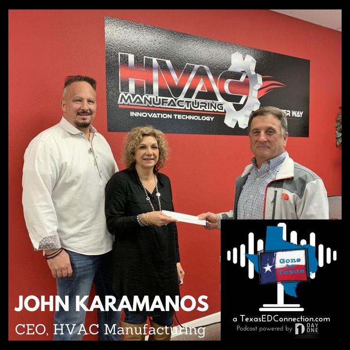 Episode 2: John Karamanos (HVAC Manufacturing)