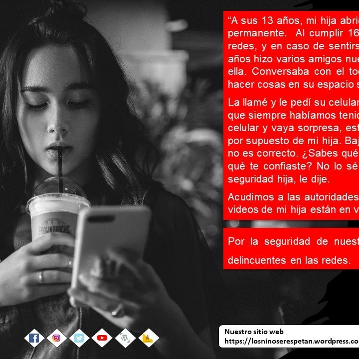 #LosNiñosSeRespetan - Mamá celular
