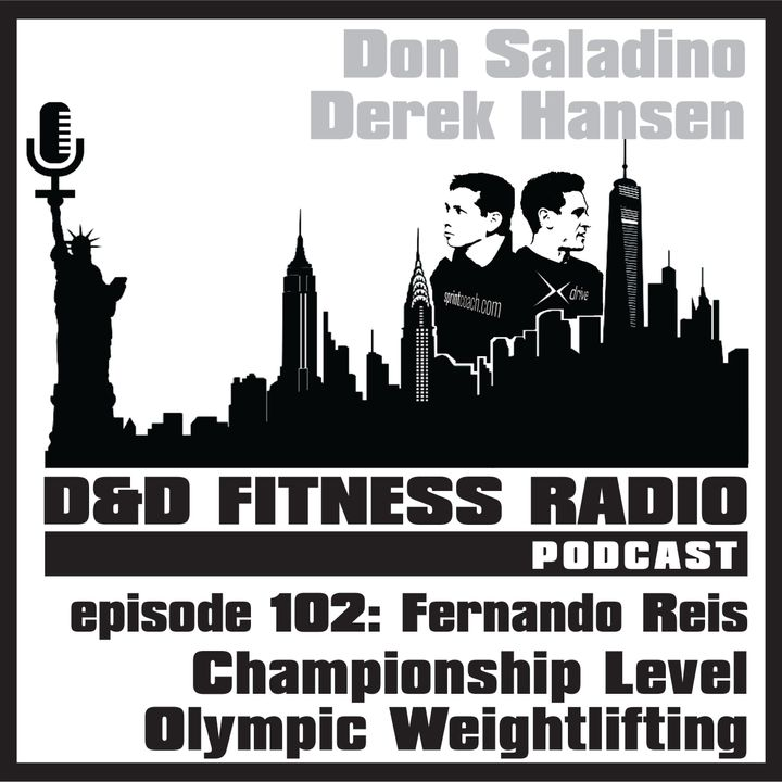 Episode 102 - Fernando Reis:  Championship Level Olympic Weightlifting
