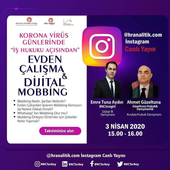 Dijital Mobbing 03 Nisan 2020