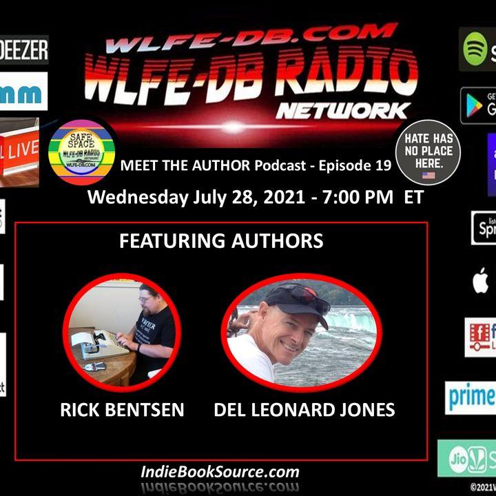 MEET THE AUTHOR Podcast - Episode 19 - RICK BENTSEN & DEL LEONARD JONES