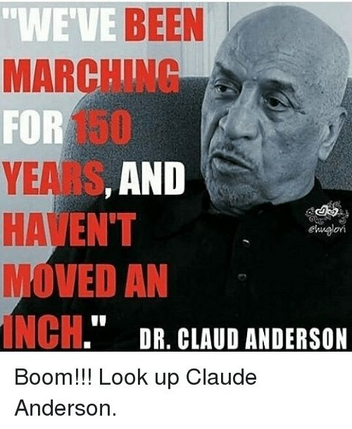 Dr. Claud Anderson & The Two Faced Negro