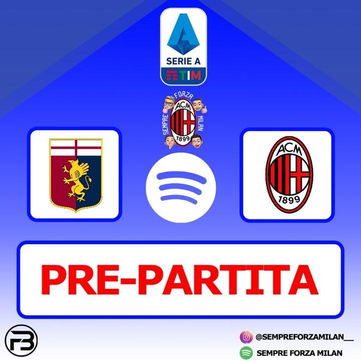 PRE PARTITA | GENOA-MILAN