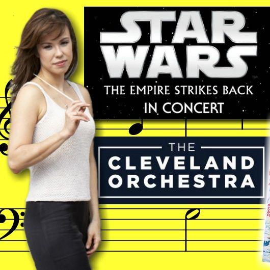 #285: Conductor Sarah Hicks on leading the Cleveland Orchestra for The Empire Strikes Back in Concert!