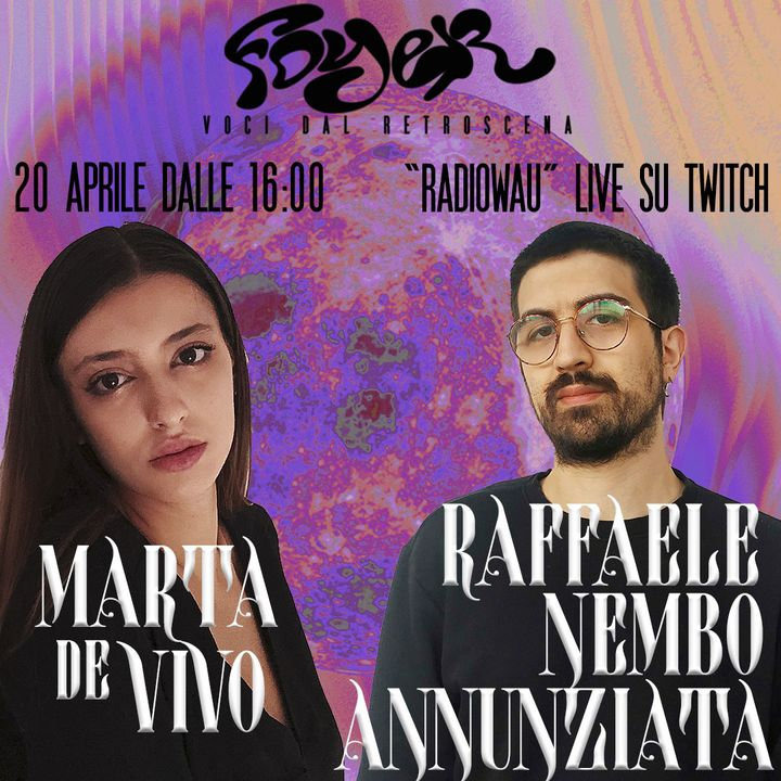 Terza puntata pt.1 - ospite: Raffaele Nembo Annunziata (Le Rane)