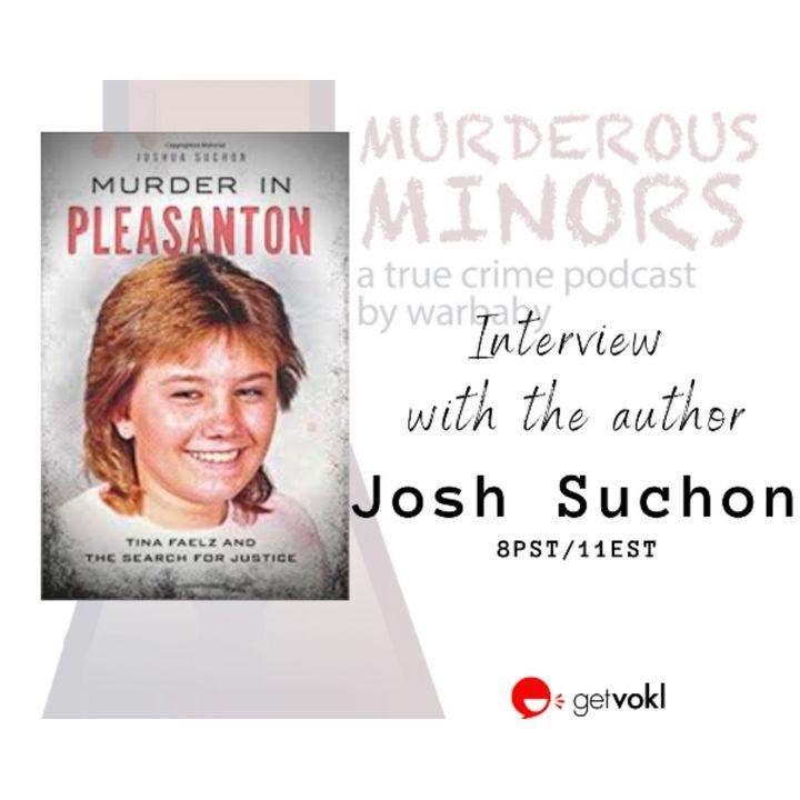 Interview with author Josh Suchon (Live stream audio)