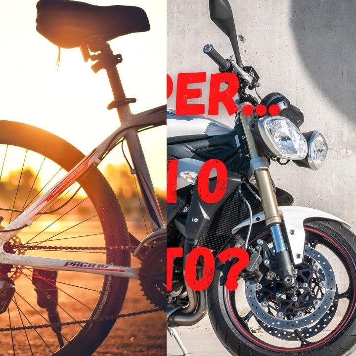 Camper.. Bici o Moto??