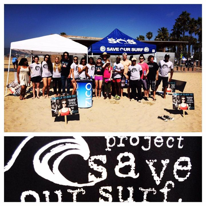 Project Save Our Surf - Actor Tanna Frederick on Big Blend Radio