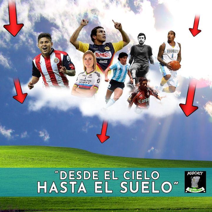 Desde el cielo hasta el suelo (accidentes o malas decisiones de algunos deportistas)