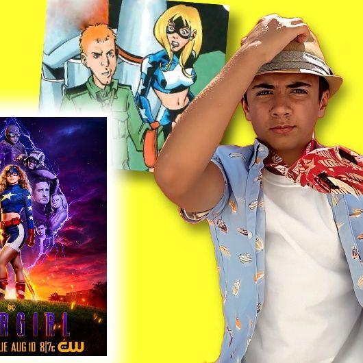 #389: Trae Romano from the CW hit superhero series Stargirl!