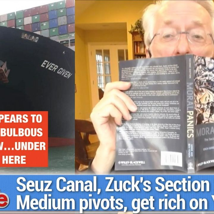 TWiG 604: Stuck in the Canal - Zuck's Section 230 idea, Medium pivots, getting rich on YouTube, Seuz Canal