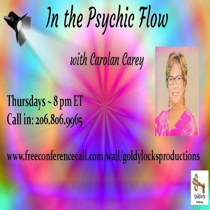 In the Psychic Flow Show ~ Special Guest: Laura Romeiro ~ 21Nov2019