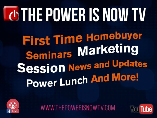 The Power Is Now : First Time Homebuyer Seminar with Julius Cartwright