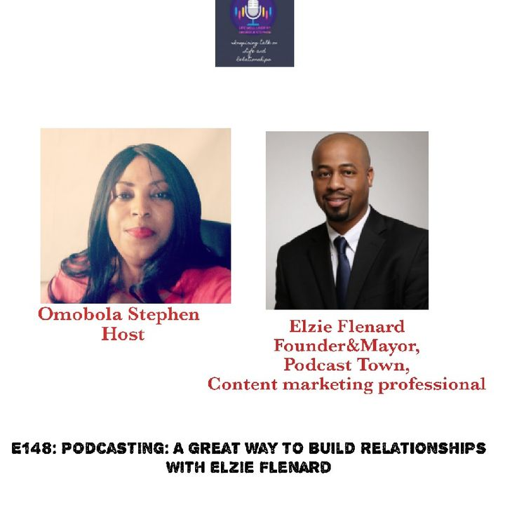 E148: Podcasting:A Great Way To Build Relationships With Elzie Flenard