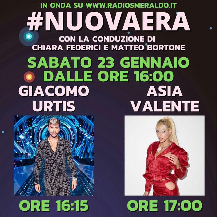 #NUOVAERA con Giacomo Urtis e Asia Valente