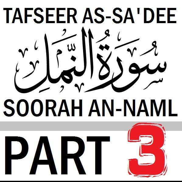 Soorah an-Naml Part 3, Verses 15-16