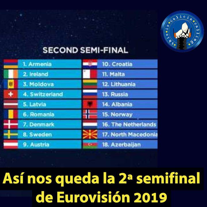T.I.G.C. Así nos queda la 2ª semifinal de Eurovisión 2019 (2x17)