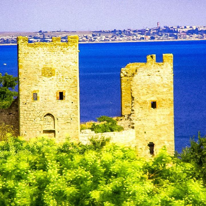 Caffa, the Genoese colony in Crimea that brought the plague to Europe