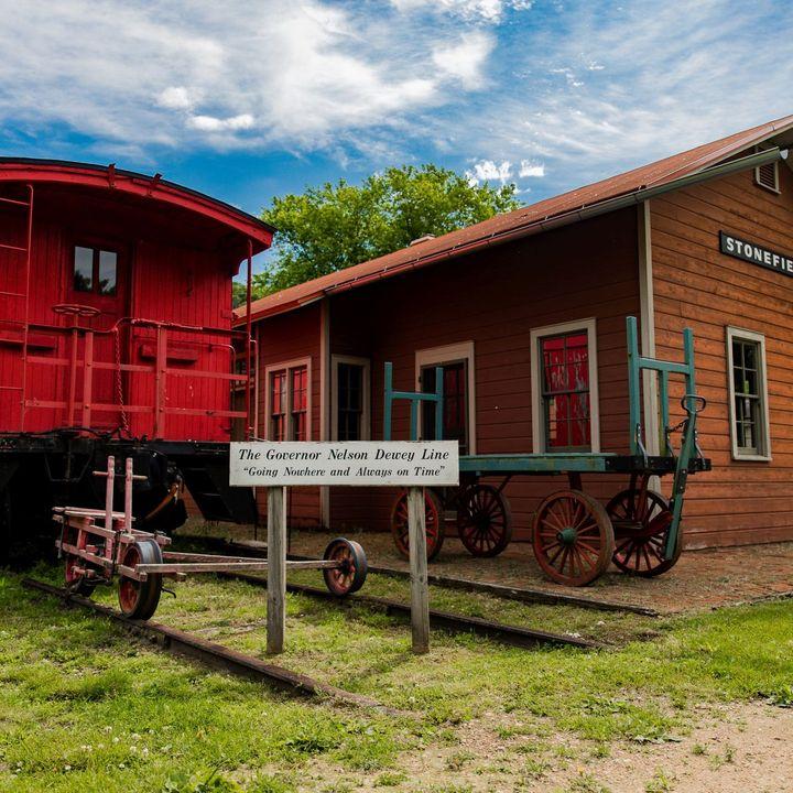E8 Wisconsin Great River Road - Stonefield Historic Site