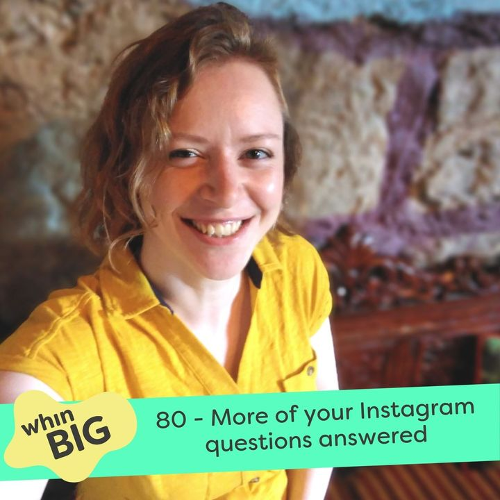 80 - More of your Instagram questions answered