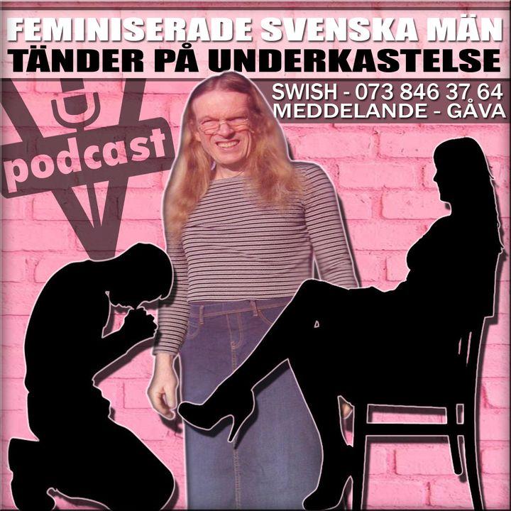 FEMINISERADE SVENSKA MÄN TÄNDER PÅ UNDERKASTELSE