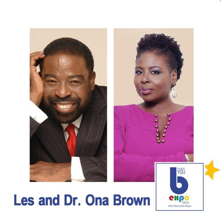 Les & Dr. Ona Brown at Virtual EXPO LA 2020