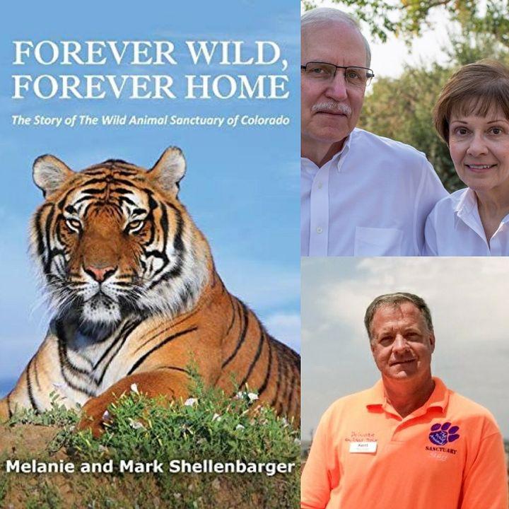 The Wild Animal Sanctuary - Kent Drotar, Mark and Melanie Shellenbarger on Big Blend Radio