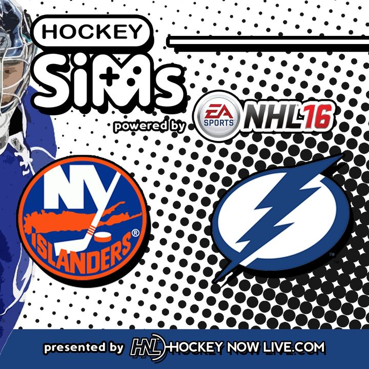 Islanders vs Lightning: Game 5 (NHL 16 Hockey Sims)