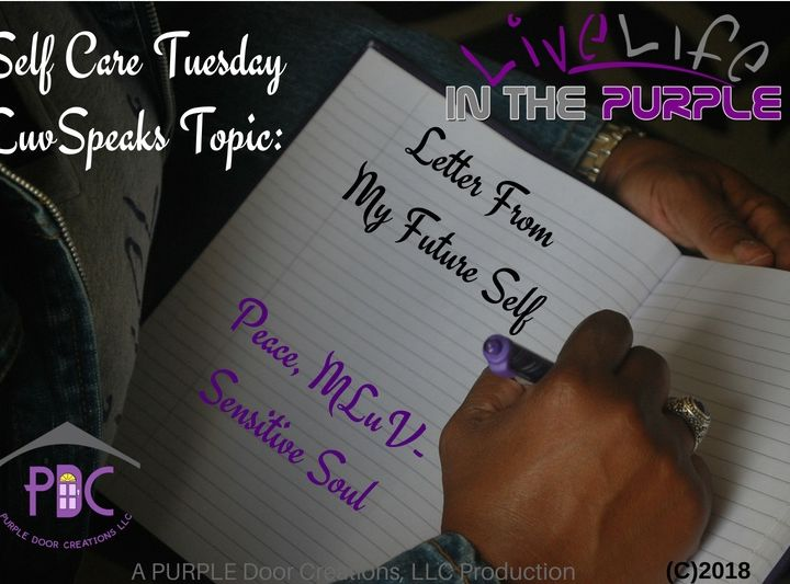 """Luv Speaks segment:  """"A Letter from my Future Self"""""""