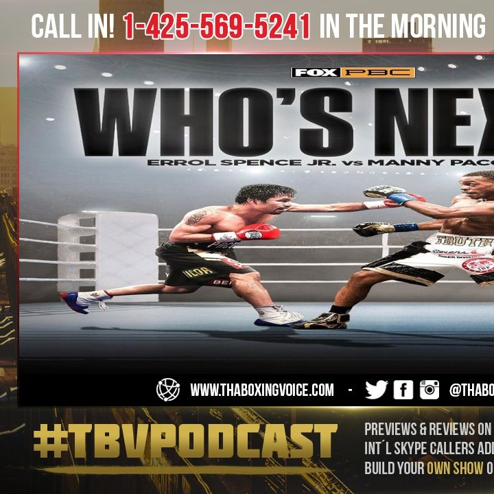 ☎️Manny Pacquiao Impressed With Errol Spence, Wants to Fight Him😱Do You Believe PACMAN Fights Him❓