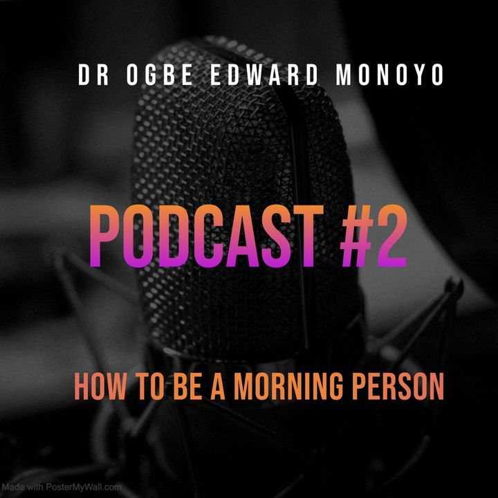 HOW TO BE A MORNING PERSON....THE NIGHT BEFORE