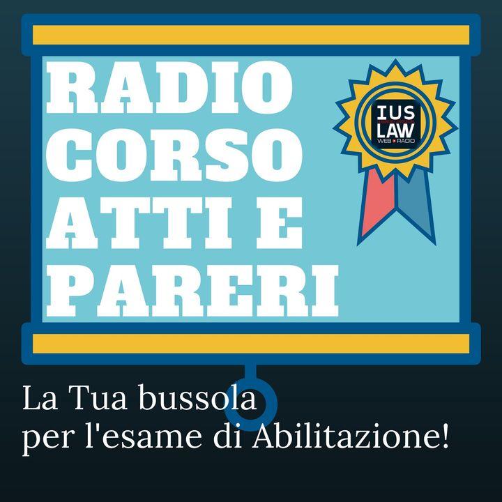 Canale Radio Corso Atti e Pareri