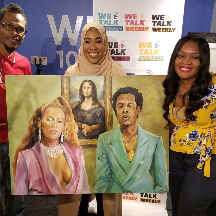 Artist Ameerah Khabir Creates Beyonce Jay-Z Masterpiece