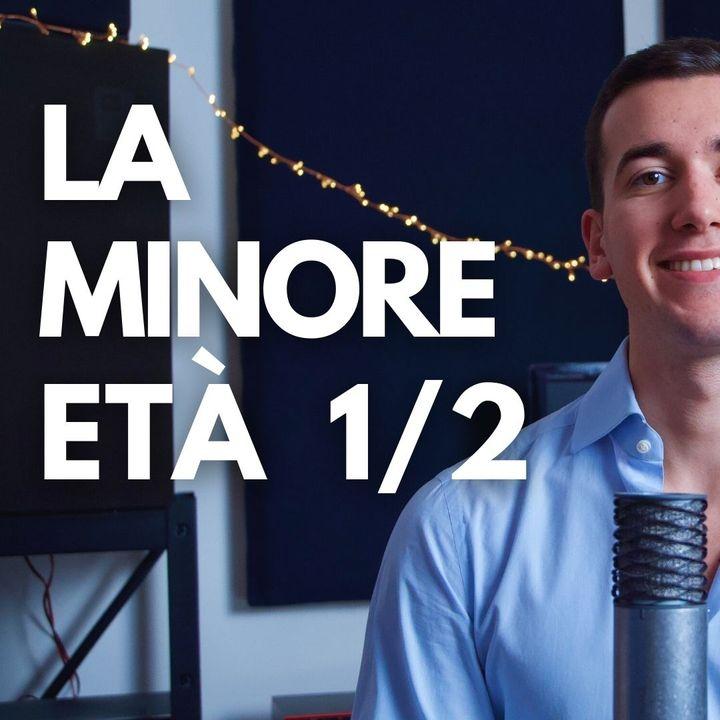 LA MINORE ETA' 1/2 IN 3 MINUTI