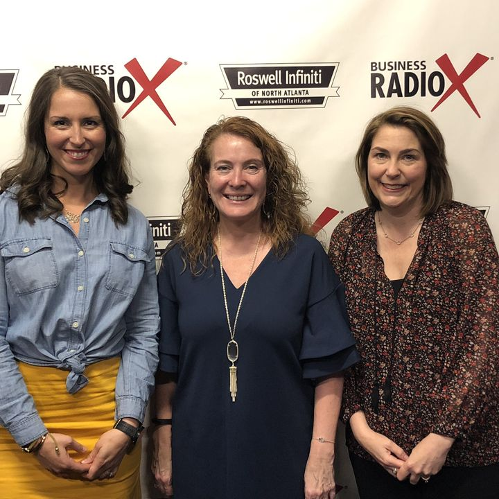 NORTH ATLANTA S BIZLINK:  GNFCC Women In Business Award Winners Lindsey Petrini, WellStar North Fulton Hospital, and Staci Hutto, Troy Unive