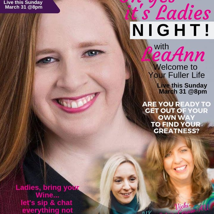 International Ladies night with LeaAnn Fuller,  Rebecca Adams, Vicki Gotsis-Ceraso
