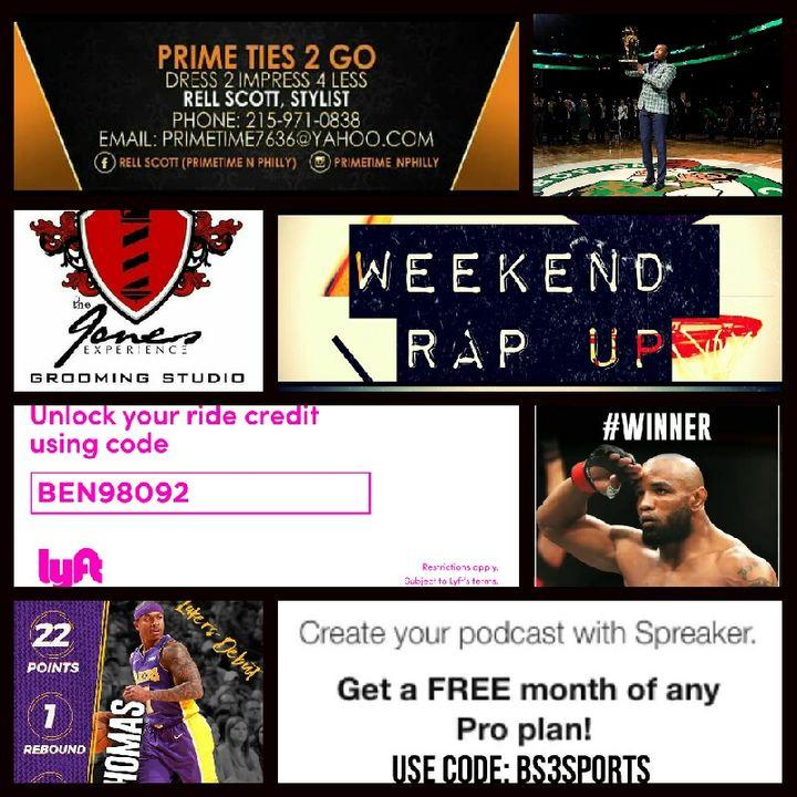 Weekend Rap Up Ep. 68: Fresh Start