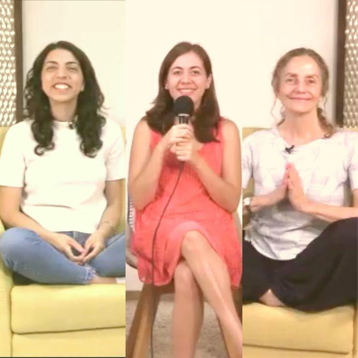 """Sesión de apertura """"Lecciones de Amor"""" EL REGALO DE DAR con Marina Colombo, Ana Paola Urrejola y Ana Cecilia Gonzales Vigil"""