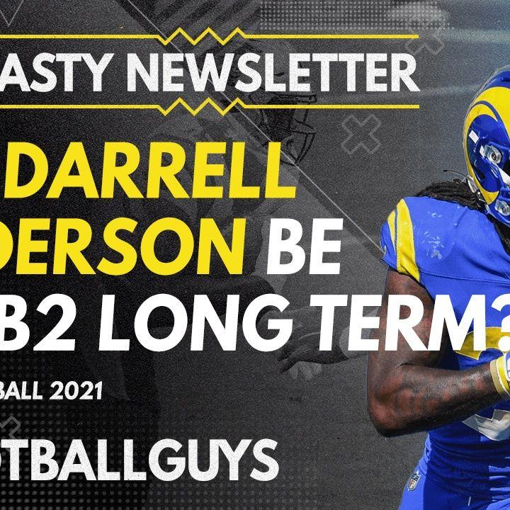Can Darrell Henderson be a RB2 long-term? - 2021 Dynasty Fantasy Football