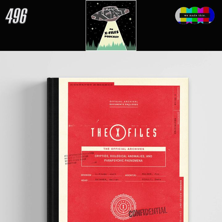 496. Interview: Paul Terry (author of The X-Files: The Official Archives)