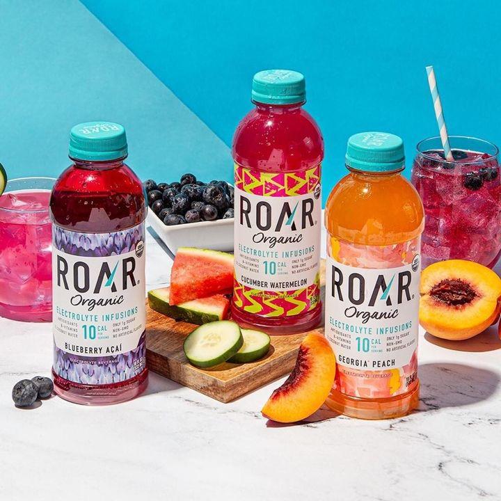 Roar Organics Keeps You Hydrated